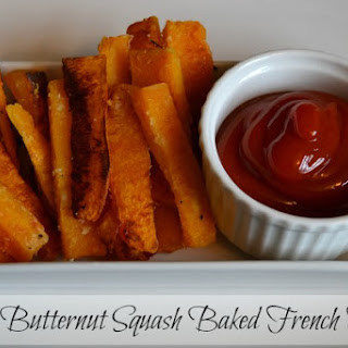 Butternut Squash Baked French Fries