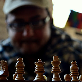 The Chess Player by KOUSTUV LAHIRI - Sports & Fitness Other Sports