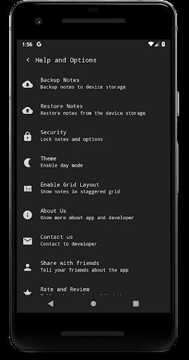 Notes (Material Notepad) 3.1.30 screenshots 4