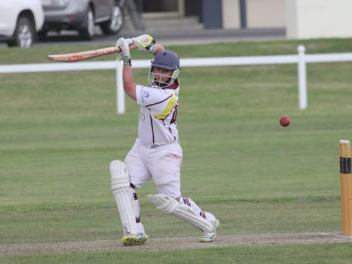 Civeo second grade young gun Aaron Baker blasted a half century for his side on Saturday. He was dismissed for 50 in the 15th over with his side needing just four more runs for victory, following a 119-run second wicket partnership with Cody Kember, who finished unbeaten on 69.
