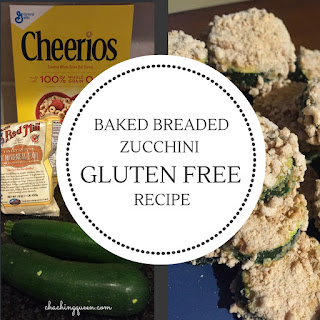 Baked Breaded Zucchini Recipe with a Gluten Free Option