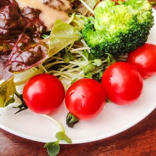 Vegan Miso Salad Dressing.