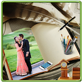 Book Photo Frames