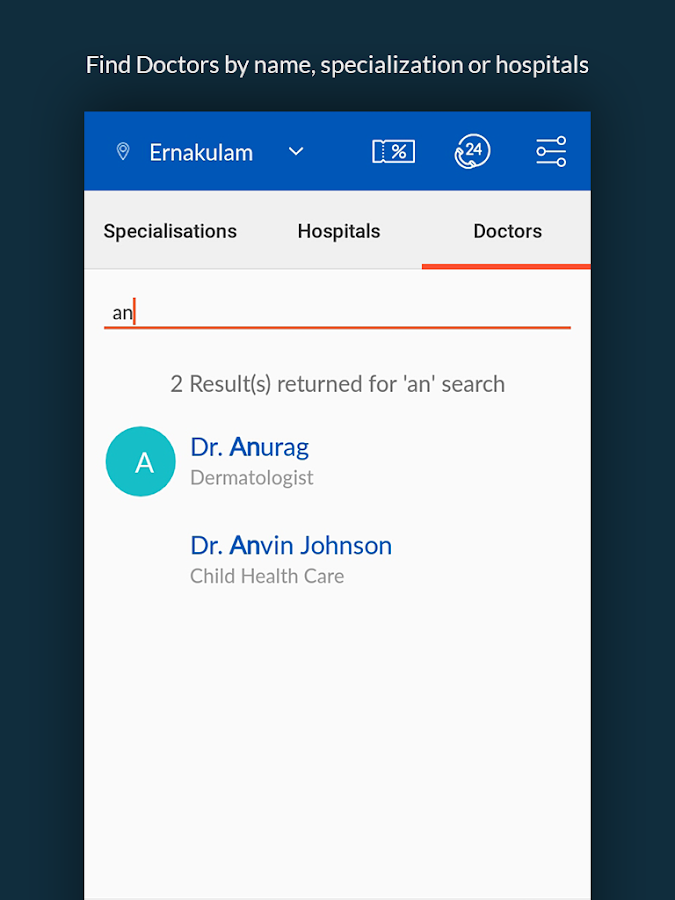 QKDoc - Hospital appointments made easy- screenshot