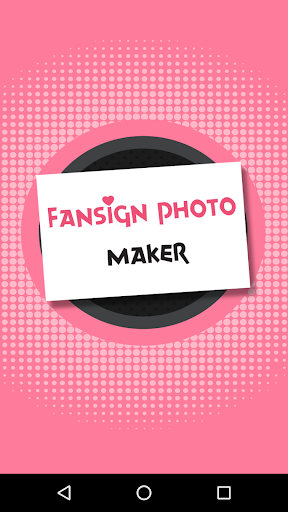 Fansign Photo Generator