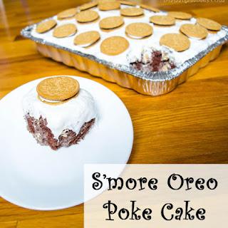 Smore Oreo Poke Cake Recipe