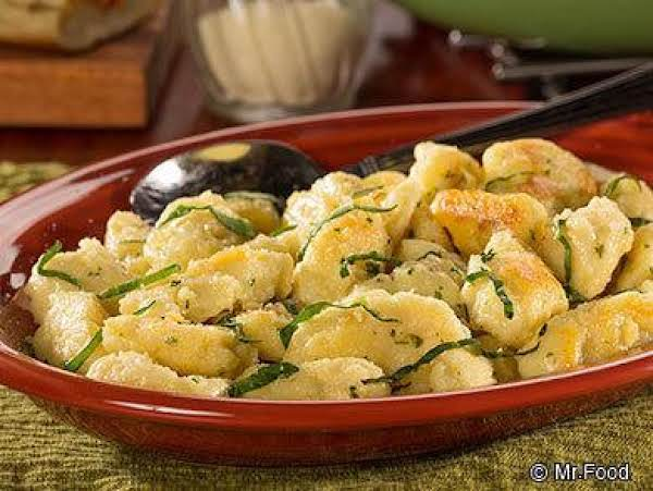 Cheese Dumplings, Italian Style Recipe