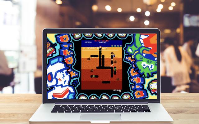 Dig Dug HD Wallpapers Game Theme