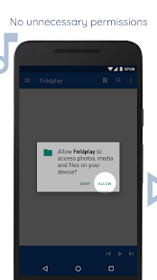 Foldplay: Folder Music Player Screenshot