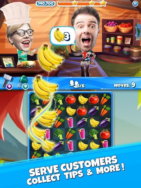 Crazy Kitchen: Match 3 Puzzles screenshot 13