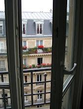 Photo: Paris France - Outside our window