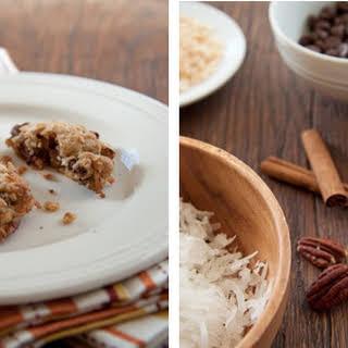 Crispy Chocolate and Coconut Cookies.