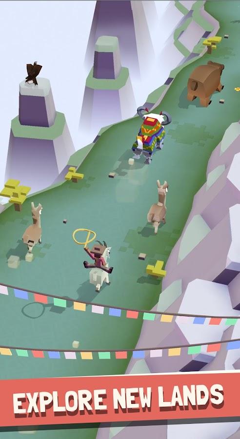 Screenshots of Rodeo Stampede: Sky Zoo Safari for iPhone