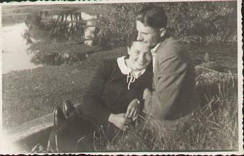 Photo: Zofia Berezowska (c. Franciszka Berezowskiego i Rozalii (z.d. Mendocha) oraz jej późniejszy mąż Kazimierz Kordal.