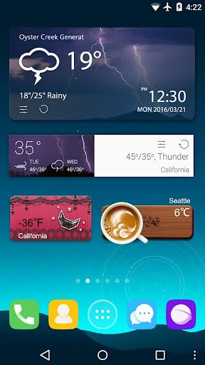 GO Weather Forecast & Widgets screenshot 8