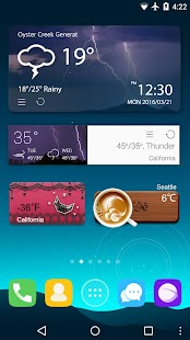 GO Weather - Widget, Theme, Wallpaper, Efficient- screenshot thumbnail