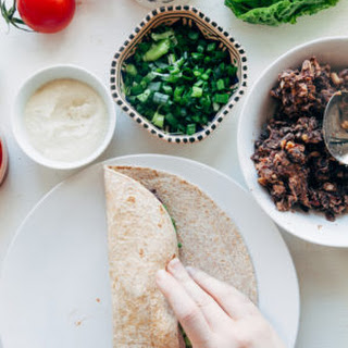 Easy Vegan Bean Burritos