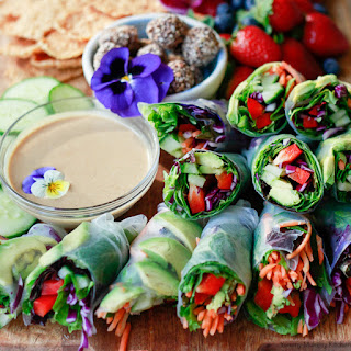 Low Calorie Spring Rolls Recipes.