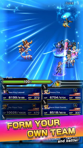 FINAL FANTASY  BRAVE EXVIUS apkpoly screenshots 6