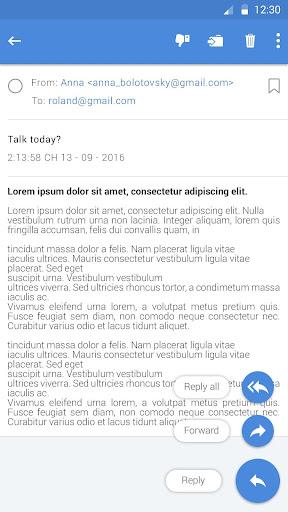 안드로이드 용 Email Pro 앱 screenshot