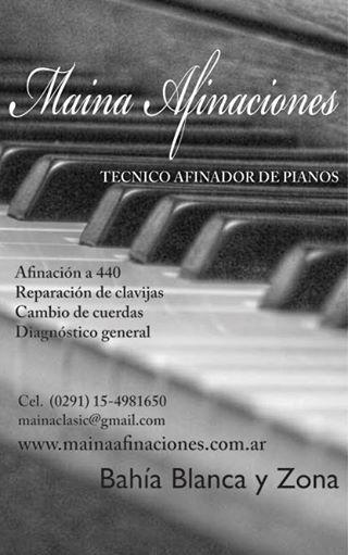 Martín Maina Afinador de pianos