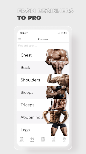 Fitness: Workout for Gym|Home  screenshots 3