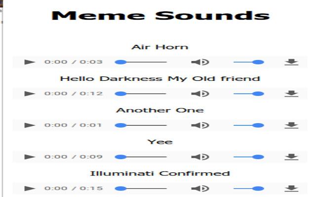 Meme Sounds