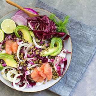 Lentil, Grapefruit and Fennel Salad with Avocado