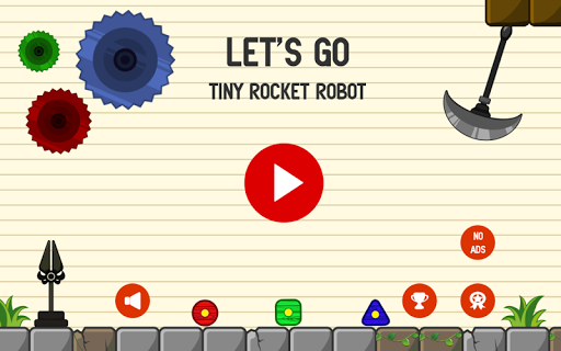Tiny Rocket Robot-Blox Loading