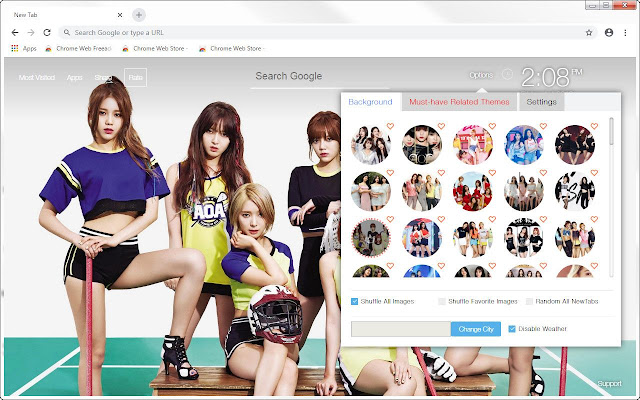 Kpop AOA HD Wallpapers New Tab Themes