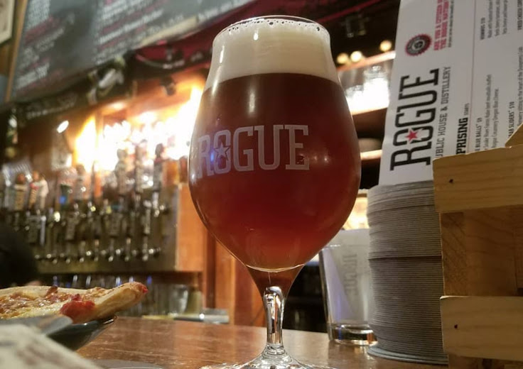 A treat at Rogue. Photo: Michael Gutierrez