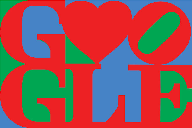 ny års Happy Valentine's Day from Google & Robert Indiana. Courtesy of  ny års