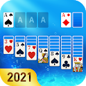 Solitaire 3D: Ocean Free Cards Game icon