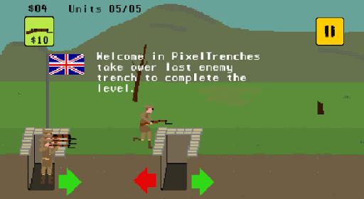 Pixel Trenches: World War 1  screenshots 1