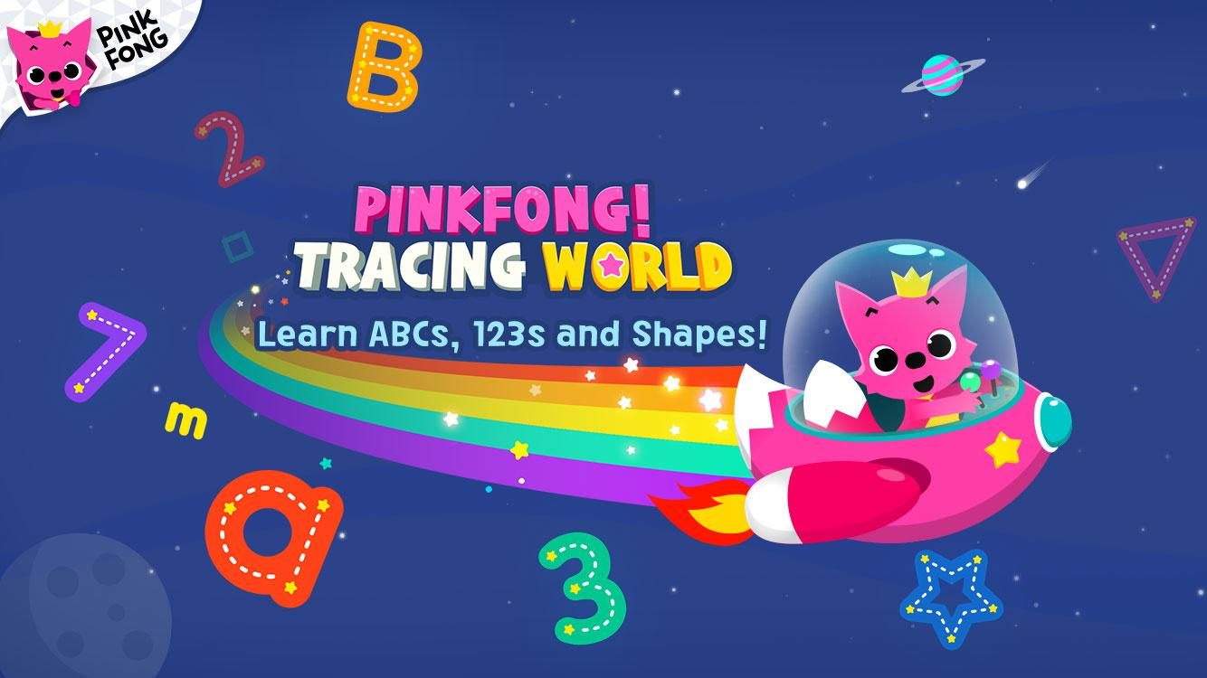 PINKFONG Tracing World- screenshot