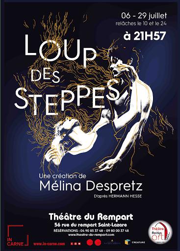Affiche Loup Des Steppes Avignon 2018
