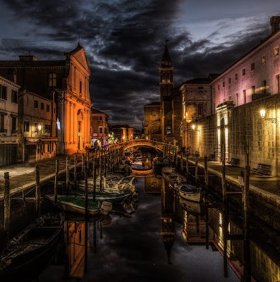 Midnight in Chioggia di Filippo Trevisan