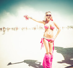 Photo: Another happy playa on the playa... :)