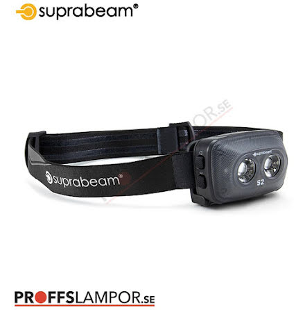 Pannlampa Suprabeam S2 rechargeable