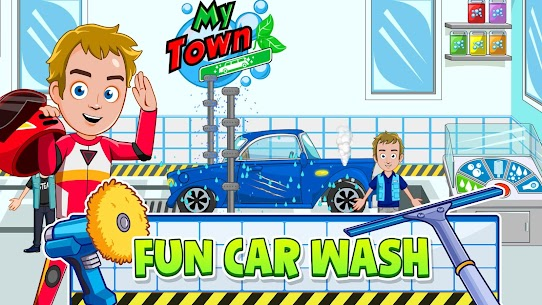 My Town: Car Garage Wash & fix kids car game MOD (Paid Content) 5