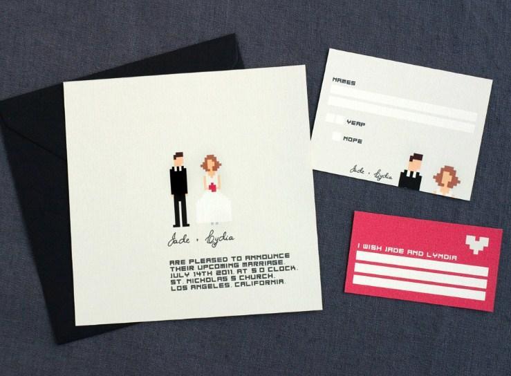 unique wedding invitation concept screenshot - Creative Wedding Invitations