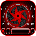 Cool Red Sharingan Keyboard Theme icon