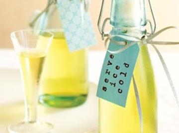Diy Homemade Limoncello Wedding Favors Recipe