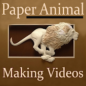 Paper Animal Making Videos