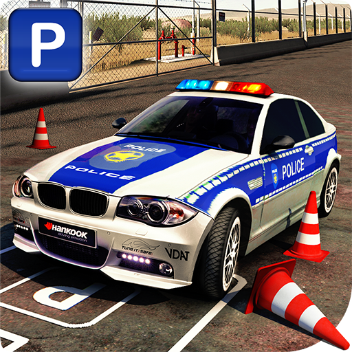 Real Police Car Parking 3D Sim