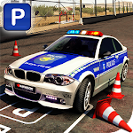Real Police Car Parking 3D Sim Icon