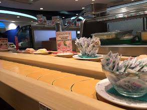 Photo: Conveyer belt sushi