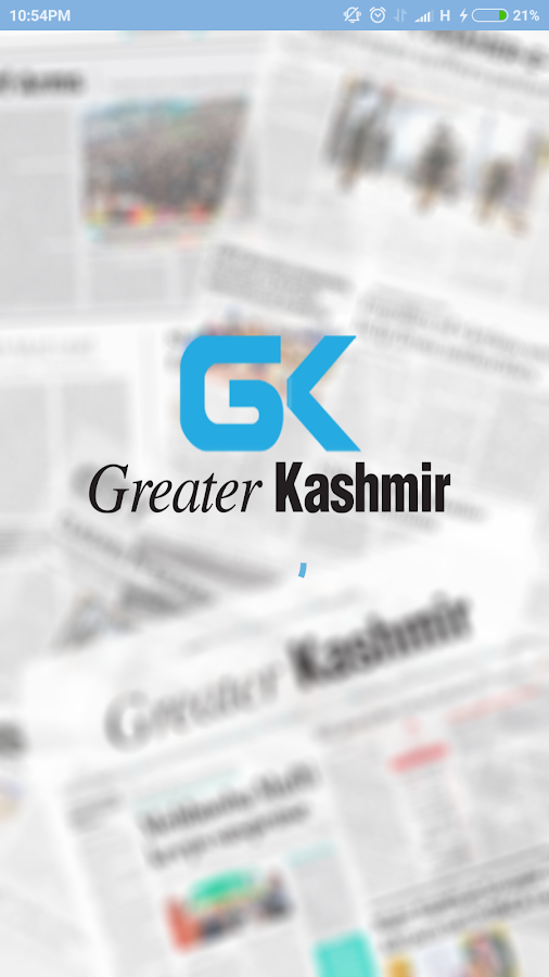 Greater Kashmir- screenshot