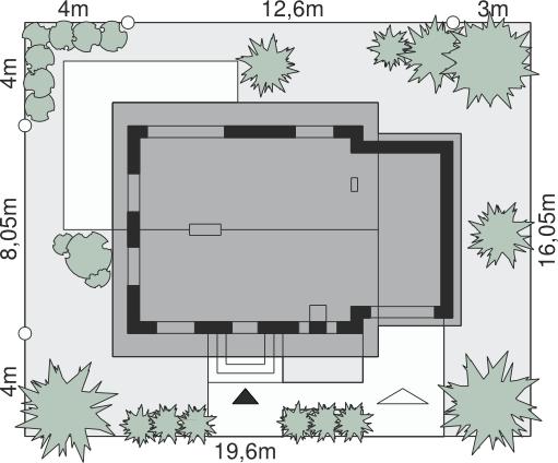 Dom przy Imbirowej 5 N - Sytuacja