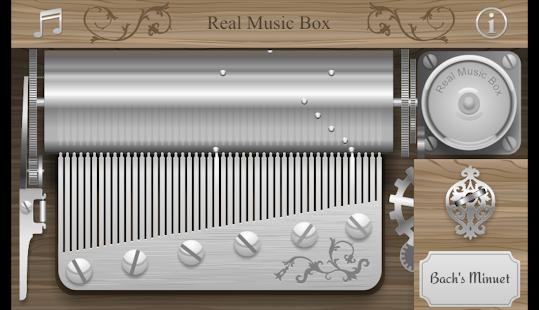 Real Music Box - screenshot thumbnail